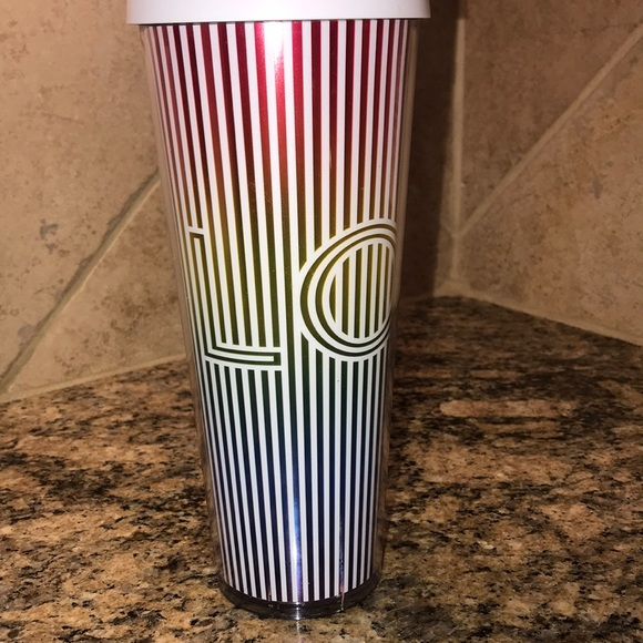 Starbucks LOVE Rainbow Iridescent Venti